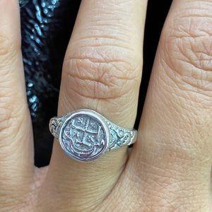 Atocha shipwreck coin ring size 6